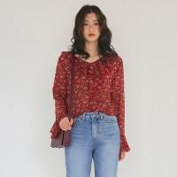 flower pril blouse