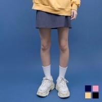 3039 코튼 A라인 치마바지 (4colors)