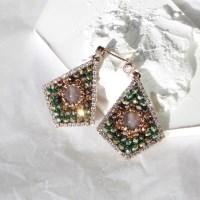 [vintage] catseye earring