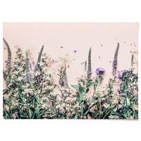 패브릭 천 포스터 F187 식물 벽에거는천 들꽃