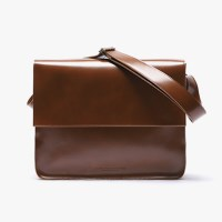 LEATHER MAIL BAG (BROWN)_(400742351)