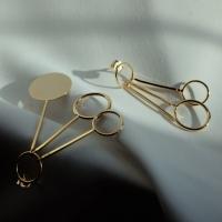 [치즈달] 151 - unbalance gold earring