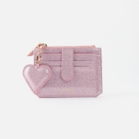 [하트키링증정] 301S Flap mini Card Wallet pink pearl