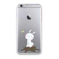 냥코케이스 젤리 케이스 나비따라서 토끼(JA060)