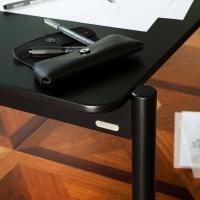 아크 폴딩 테이블 블랙 -레귤러