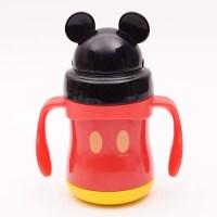 디즈니 미키 아이콘 소프트 스텐 빨대물통