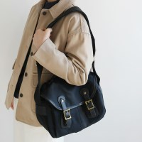 Mannish cotton casual bag