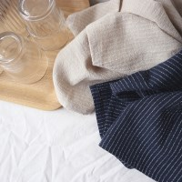 stripe kitchen fabric _ 2 color