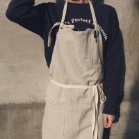 stripe apron _ 2 color