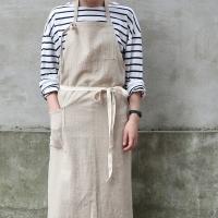 stripe apron _ 2 color