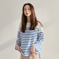 [치즈달] 'le vingti' stripe top