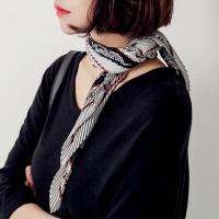 [로코식스] pleats satin scarf/스카프_(755900)