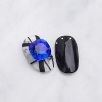 [스와로브스키4470]쿠션스퀘어(10mm)-마제스틱 블루(1개_(2104602)