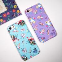 디즈니 앨리스 퓨리 패턴 하드 케이스 아이폰 갤럭시 LG