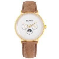 돌핀 DP 536-11 ROSE GOLD 썬앤문 남성시계