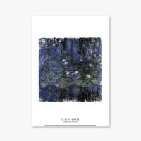 Blue Water Lilies - 클로드 모네 008