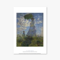 Woman with a Parasol, Madame Monet and Her Son - 클로드 모네 005