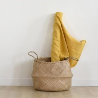 [Fabric] Mustard Yellow_Washing Solid Linen (옐로우 워싱 린넨)