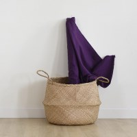 [Fabric] Lavender violet_Washing Solid Linen(바이올렛 워싱 린넨)
