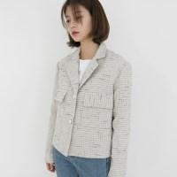 Feminine tweed jacket