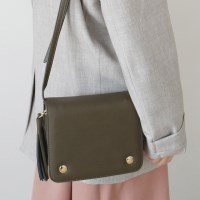 Square mini shoulder bag