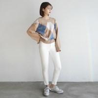 Easy slim cotton skinny