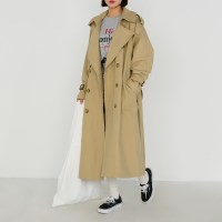 natural trench coat