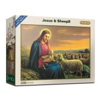 500피스 예수와아기양 직소퍼즐 PL664_(982894)