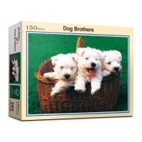 150피스 강아지 3형제 직소퍼즐 PL282_(983023)