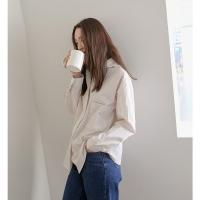 [치즈달] striped collar shirts