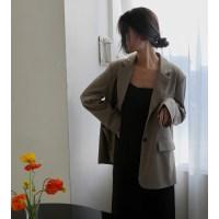 [치즈달] single breasted jacket