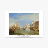 Venice, The Dogana and San Giorgio Maggiore - 윌리엄 터너 002