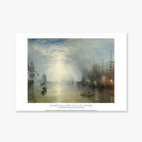 Keelmen Heaving in Coals by Moonlight - 윌리엄 터너 001