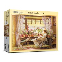 1000피스 독서하는 소녀 직소퍼즐 PL1286_(983871)