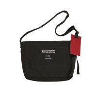 PRESERVATION MESSENGER BAG (BLACK)