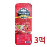 냉동-푸드웰 국내산 가당 딸기 1kg 3개묶음_(646887)