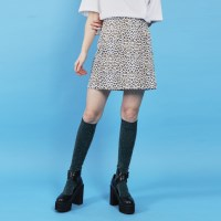leopard mini skirt (2 color)_(886817)