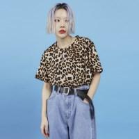 leopard 1/2 T (2 color) -UNISEX_(886812)