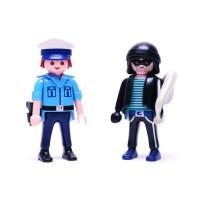 플레이모빌 듀오팩-경찰과 도둑(9218)
