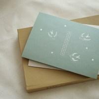 메세지 폴딩 카드 세트 (4매 SET) - M
