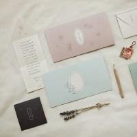 메세지 폴딩 카드 세트 (4매 SET) - L