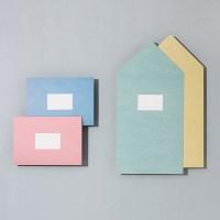 심플 폴딩 카드 세트 (4매 SET) - M