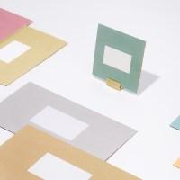 심플 폴딩 카드 세트 (4매 SET) - S