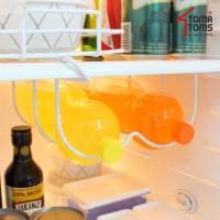 [토마톰스]냉장고 음료수 보관선반 2단_(1671603)