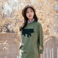[Organic cotton] going home - green. (발목양말 증정)