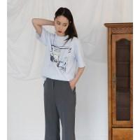 [치즈달] 베이글 티셔츠