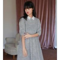 [치즈달] 레이스칼라 플로랄 드레스