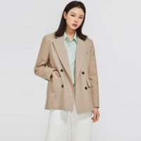 FRESH A check double jacket_(900745)