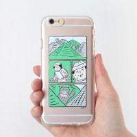 아자씨 젤리케이스 -지리산반달곰과술래잡기