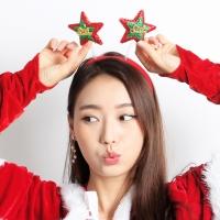 크리스마스 별 머리띠
